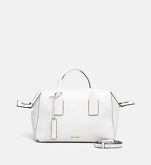 CALVINKLEIN Duffle Bag - WHITE - CALVIN KLEIN NEW IN - main image