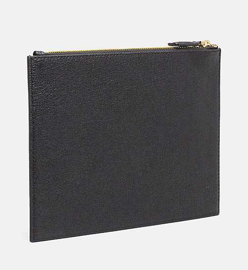 CALVINKLEIN Zip Pouch - BLACK - CALVIN KLEIN NEW IN - detail image 1