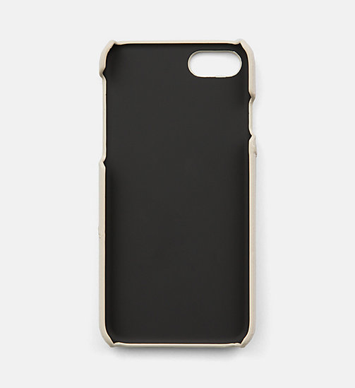 CALVINKLEIN iPhone7 Cover - CEMENT - CALVIN KLEIN SHOES & ACCESORIES - detail image 1