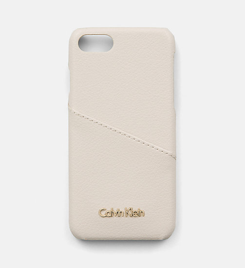 CALVINKLEIN iPhone7 Cover - CEMENT - CALVIN KLEIN SHOES & ACCESORIES - main image