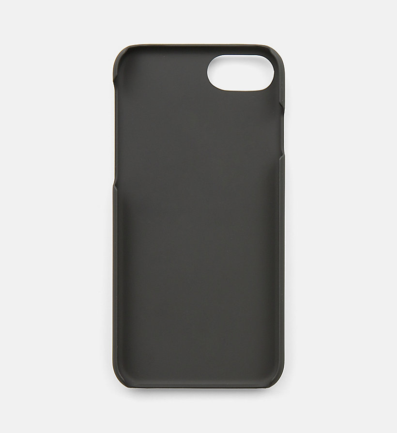 CALVINKLEIN iPhone7 Cover - BLACK - CALVIN KLEIN WOMEN - detail image 1
