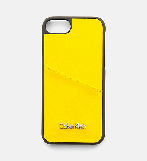 CALVINKLEIN iPhone7 Cover - SUNFLOWER - CALVIN KLEIN NEW IN - main image