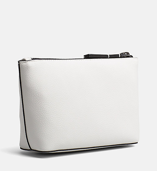 CALVINKLEIN Make-Up Bag - WHITE - CALVIN KLEIN NEW IN - detail image 1