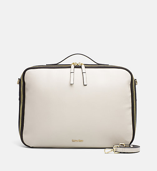CALVINKLEIN Laptop Bag - CEMENT - CALVIN KLEIN FOR HER - main image