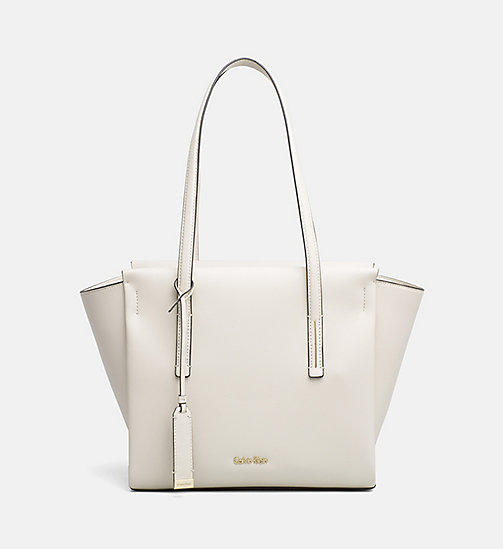 CALVINKLEIN Medium Tote Bag - CEMENT - CALVIN KLEIN SHOES & ACCESORIES - main image