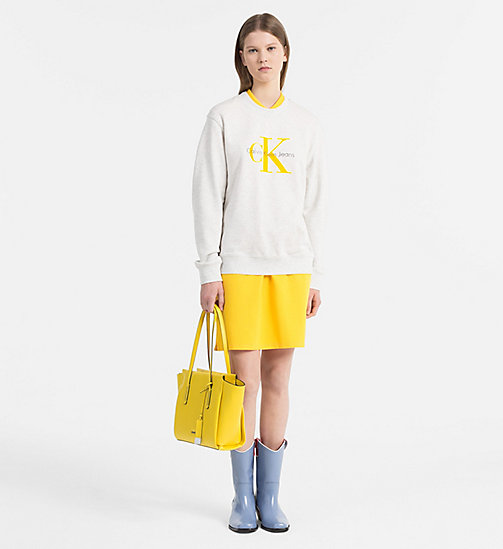 CALVINKLEIN Medium Tote Bag - SUNFLOWER - CALVIN KLEIN NEW IN - detail image 1