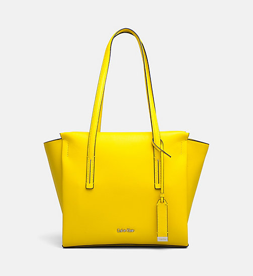 CALVINKLEIN Medium Tote Bag - SUNFLOWER - CALVIN KLEIN NEW IN - main image