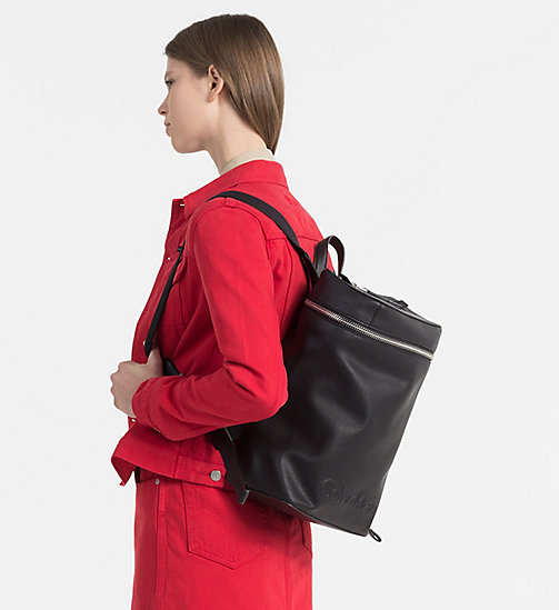 CALVINKLEIN Square Backpack - BLACK - CALVIN KLEIN SHOES & ACCESSORIES - detail image 1