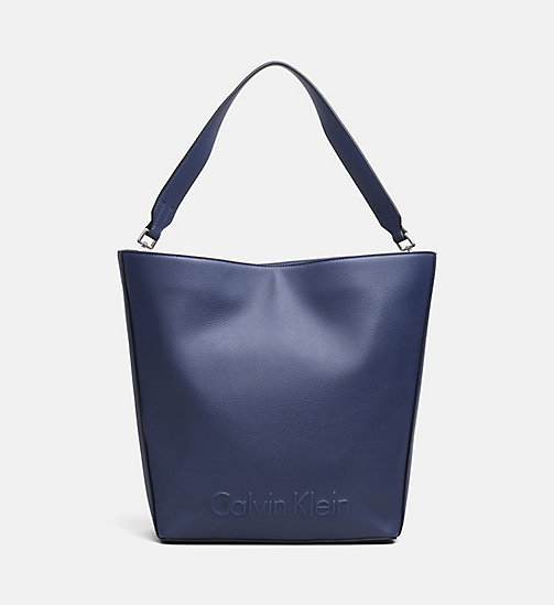 CALVINKLEIN Large Hobo - NAVY - CALVIN KLEIN NEW IN - main image