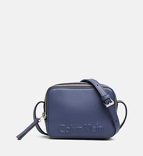 CALVINKLEIN Small Crossover - NAVY - CALVIN KLEIN NEW IN - main image