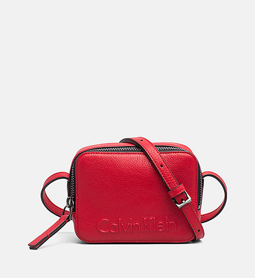 CALVINKLEIN Small Crossover - SCARLET -  NEW IN - main image