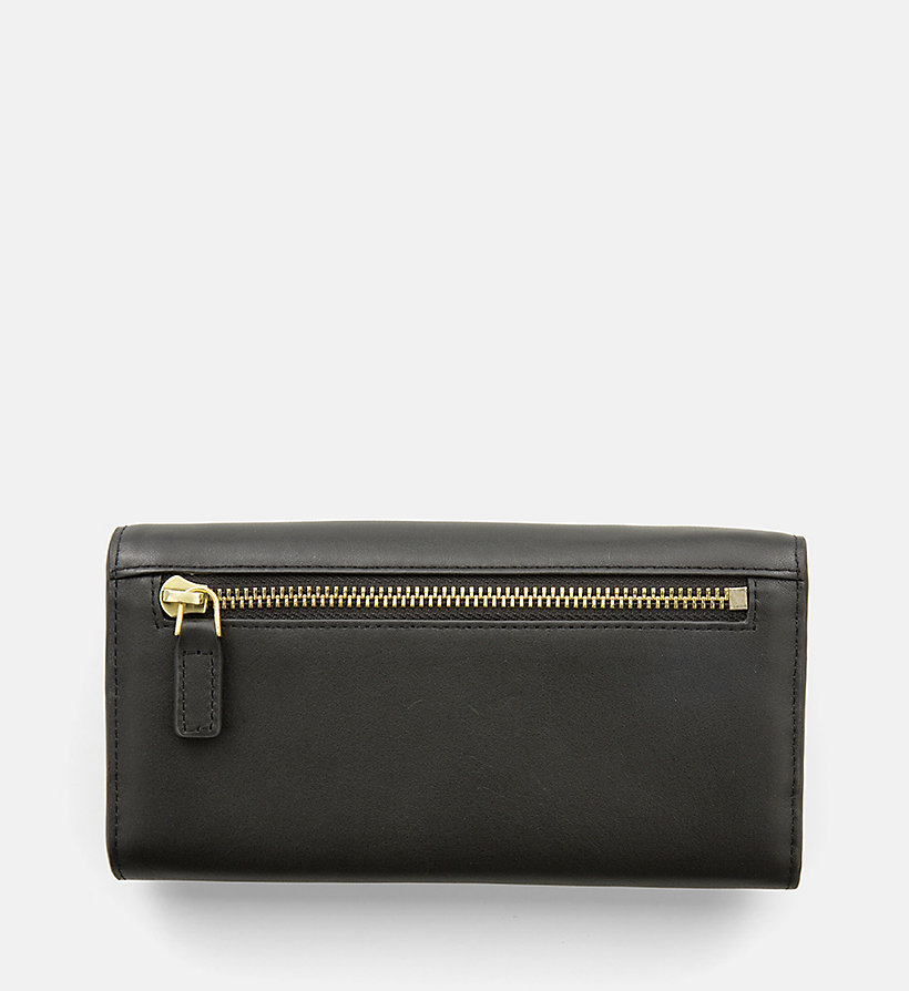 CALVINKLEIN Large Leather Trifold Wallet - TOAST - CALVIN KLEIN WOMEN - detail image 2