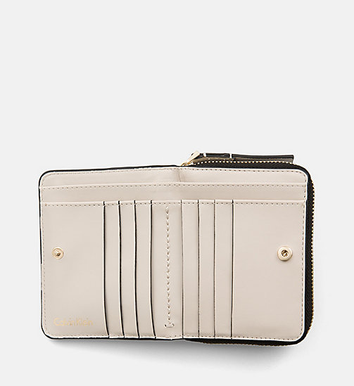 CALVINKLEIN Zip-Around Flap Wallet - CEMENT - CALVIN KLEIN WALLETS - detail image 1