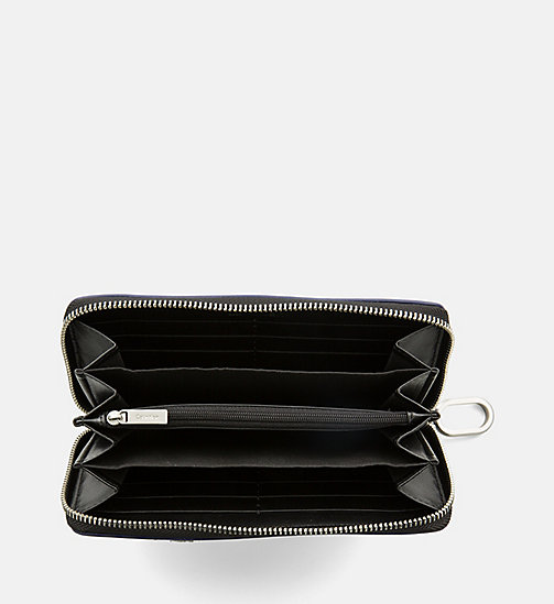 CALVINKLEIN Large Zip-Around Wallet - NAVY - CALVIN KLEIN SHOES & ACCESORIES - detail image 1