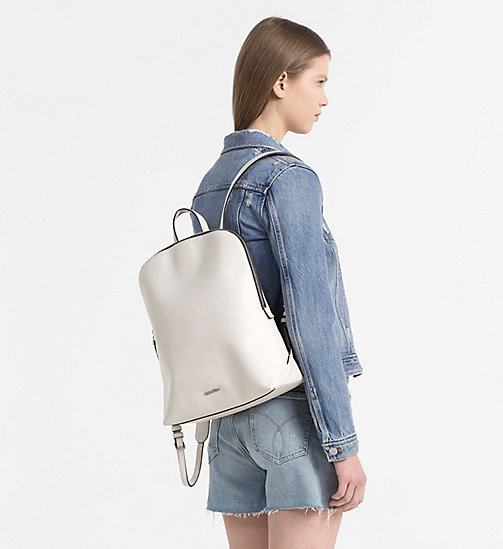 CALVINKLEIN Expandable Interior Backpack - CEMENT - CALVIN KLEIN BACKPACKS - detail image 1