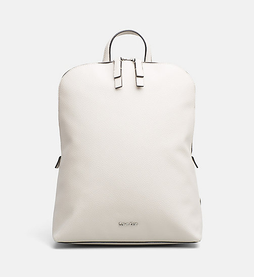 CALVINKLEIN Expandable Interior Backpack - CEMENT - CALVIN KLEIN NEW IN - main image