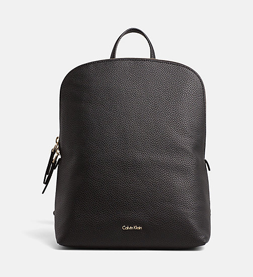 CALVINKLEIN Expandable Interior Backpack - BLACK - CALVIN KLEIN BACKPACKS - main image