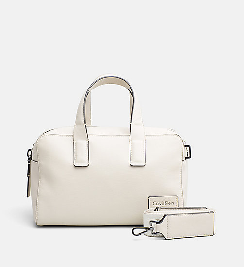 CALVINKLEIN Medium duffle bag - CEMENT -  HEAT WAVE - main image