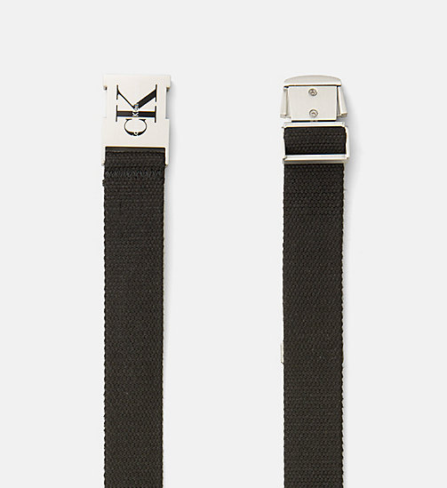 CALVIN KLEIN JEANS Clip Buckle Belt - BLACK - CALVIN KLEIN JEANS PACK YOUR BAG - detail image 1