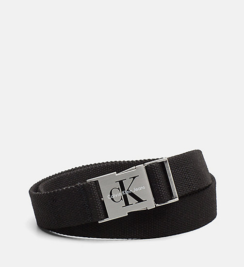 CALVIN KLEIN JEANS Clip Buckle Belt - BLACK - CALVIN KLEIN JEANS PACK YOUR BAG - main image