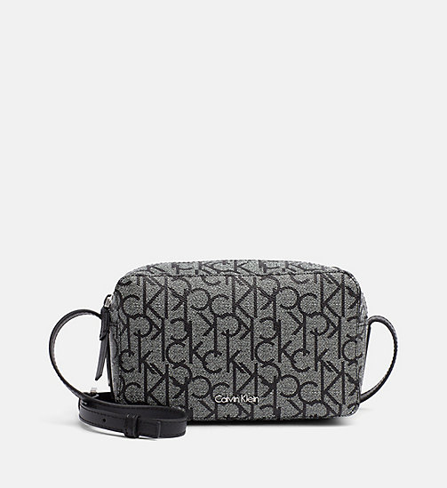 CALVINKLEIN Crossover Camera Bag - GRANITE MONOGRAM - CALVIN KLEIN CROSSOVER BAGS - main image