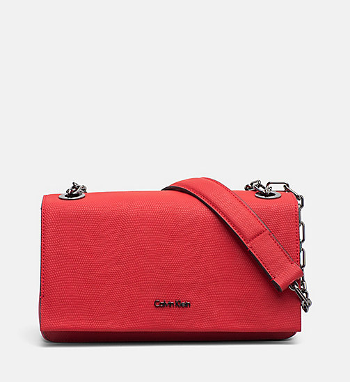 CALVINKLEIN Convertible Shoulder Bag - SCARLET - CALVIN KLEIN NEW IN - main image