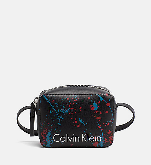 CALVINKLEIN Small Splatter Crossover - BLACK SPLASH - CALVIN KLEIN CROSSOVER BAGS - main image