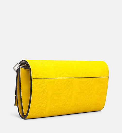 CALVINKLEIN Clutch on Chain - SUNFLOWER - CALVIN KLEIN CLUTCH BAGS - detail image 1