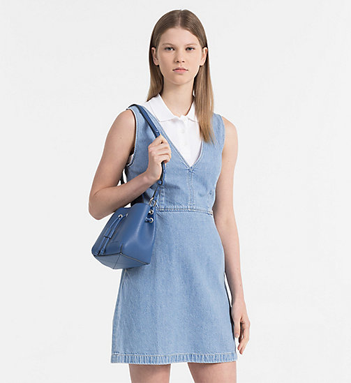 CALVIN KLEIN JEANS Small Bucket Bag - LIGHT NAVY - CALVIN KLEIN JEANS NEW IN - detail image 1