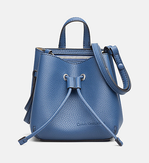 CALVIN KLEIN JEANS Small Bucket Bag - LIGHT NAVY - CALVIN KLEIN JEANS CROSSOVER BAGS - main image