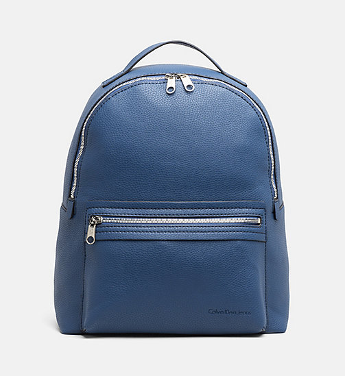 CALVIN KLEIN JEANS Medium Round Backpack - LIGHT NAVY - CALVIN KLEIN JEANS BACKPACKS - main image