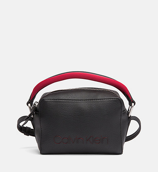 CALVINKLEIN Small Cross Body Bag - BLACK - CALVIN KLEIN CROSSOVER BAGS - main image