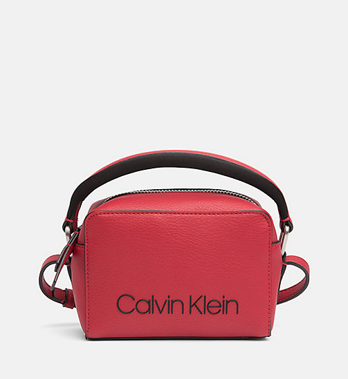 CALVINKLEIN Small Crossover - DARK RED - CALVIN KLEIN NEW IN - main image