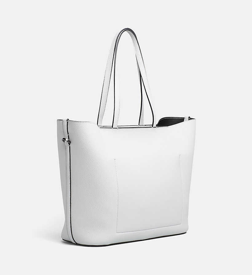 CALVIN KLEIN Shopper Tote Bag - BLACK - CALVIN KLEIN WOMEN - detail image 3