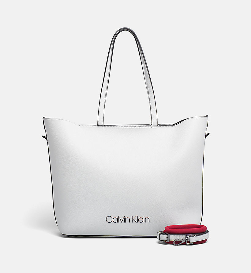 CALVIN KLEIN Shopper Tote Bag - BLACK - CALVIN KLEIN WOMEN - main image