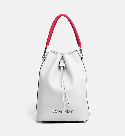 CALVINKLEIN Backpack - LIGHT GREY - CALVIN KLEIN NEW IN - main image