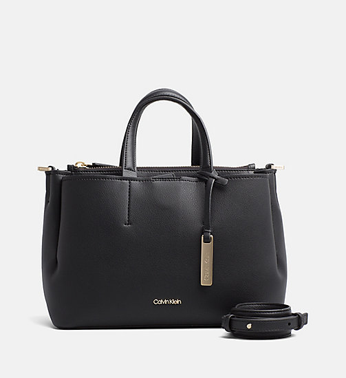 CALVINKLEIN Medium Tote-Bag - BLACK - CALVIN KLEIN DUFFLE-BAGS & SATCHEL - main image