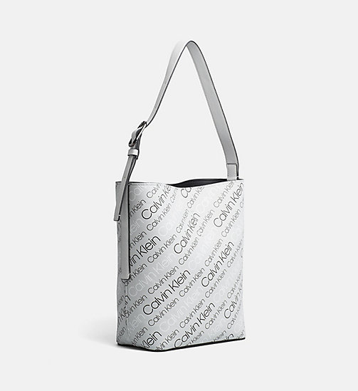 CALVINKLEIN Reversible Bucket Bag - LOGO PRINT/BLACK - CALVIN KLEIN NEW IN - detail image 1