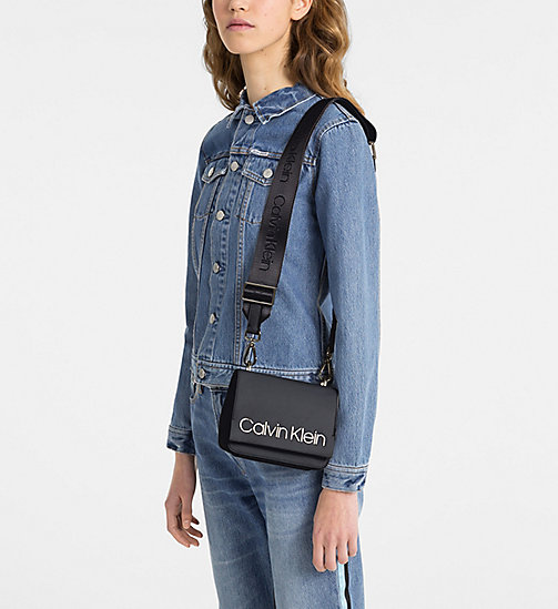 CALVINKLEIN Small Cross Body Bag - BLACK - CALVIN KLEIN CROSSOVER BAGS - detail image 1