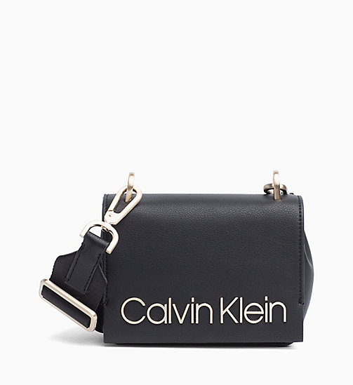 CALVIN KLEIN Small Cross Body Bag - BLACK - CALVIN KLEIN BAGS - main image