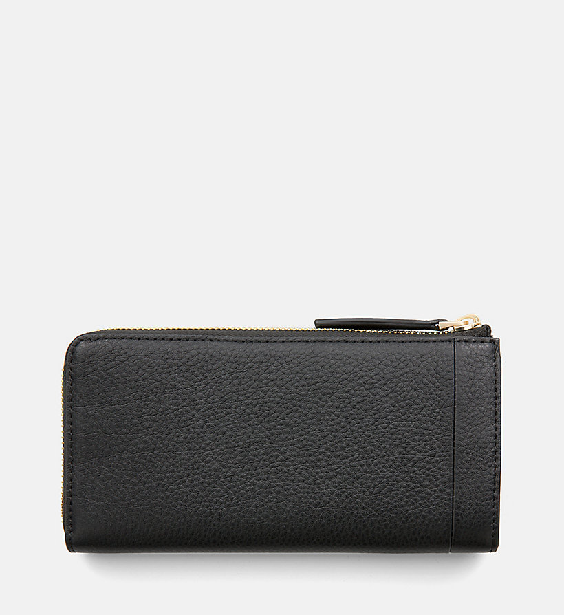 CALVINKLEIN Large Leather Zip-Around Wallet - NUDE - CALVIN KLEIN WOMEN - detail image 2