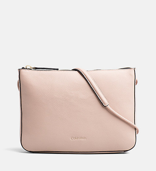 CALVINKLEIN Leather Crossover - NUDE - CALVIN KLEIN CROSSOVER BAGS - main image