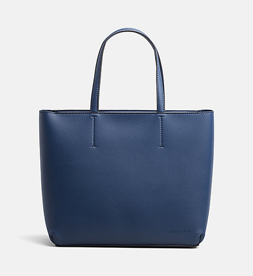 CALVIN KLEIN JEANS Large Tote Bag - LIGHT NAVY - CALVIN KLEIN JEANS TOTE BAGS - main image
