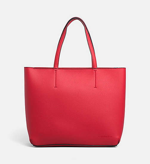 CALVIN KLEIN JEANS Large Tote Bag - SCARLETT - CALVIN KLEIN JEANS TOTE BAGS - main image