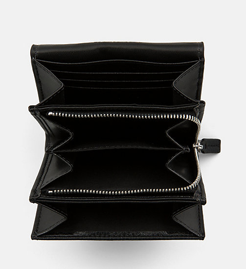 CALVIN KLEIN JEANS Trifold Wallet - BLACK - CALVIN KLEIN JEANS WALLETS & SMALL ACCESSORIES - detail image 1