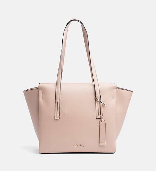 CALVINKLEIN Medium Tote Bag - NUDE - CALVIN KLEIN SHOES & ACCESORIES - main image