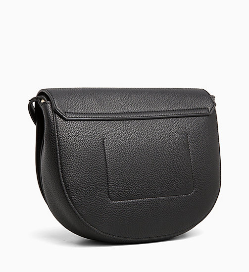 CALVINKLEIN Medium Saddle Bag - BLACK - CALVIN KLEIN NEW IN - detail image 1
