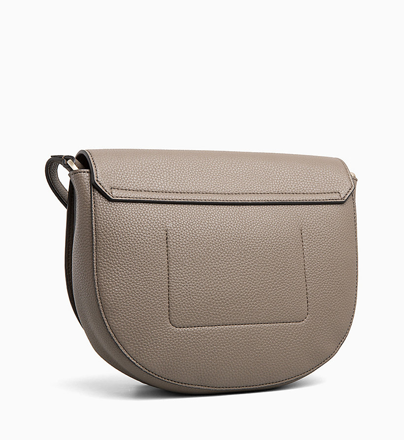 CALVIN KLEIN Medium Saddle Bag - BLACK - CALVIN KLEIN WOMEN - detail image 1