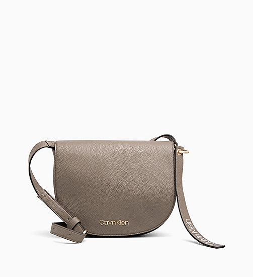 CALVINKLEIN Medium Saddle Bag - ARMY FTGE - CALVIN KLEIN NEW IN - main image