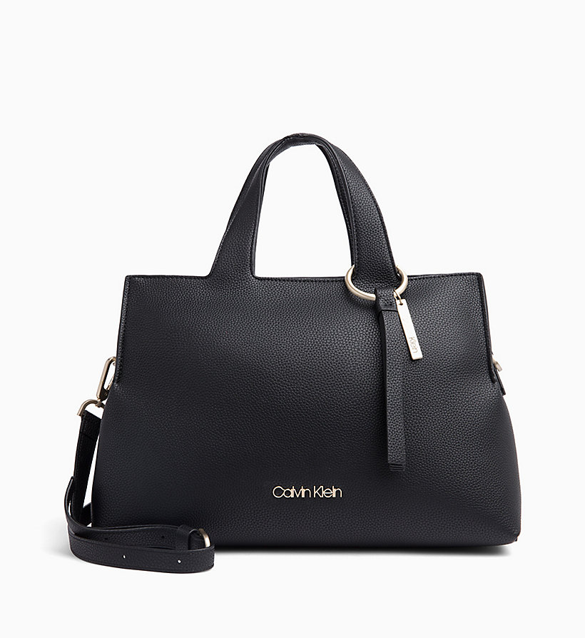 CALVIN KLEIN Medium Tote Bag - ROUGE - CALVIN KLEIN WOMEN - main image